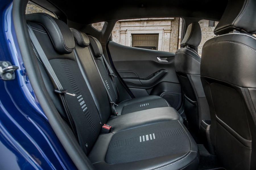 Ford Fiesta rear seats