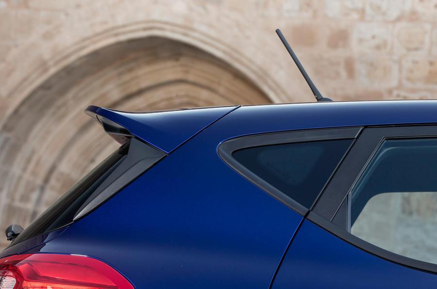 Ford Fiesta rear spoiler