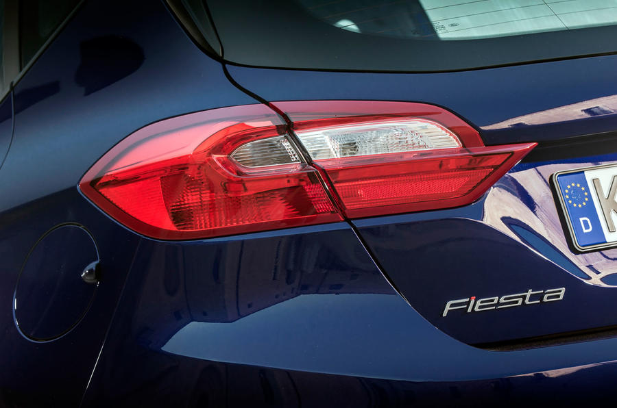 Ford Fiesta rear lights