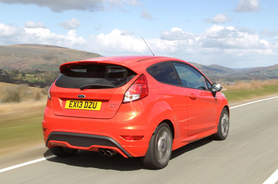 2012 Ford Fiesta ST road test - rear