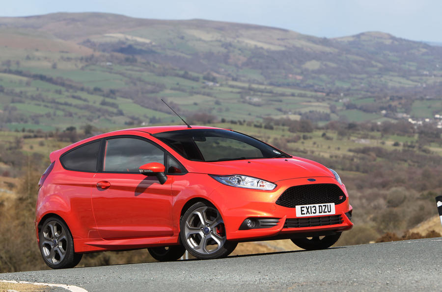 2012 Ford Fiesta ST road test - static front