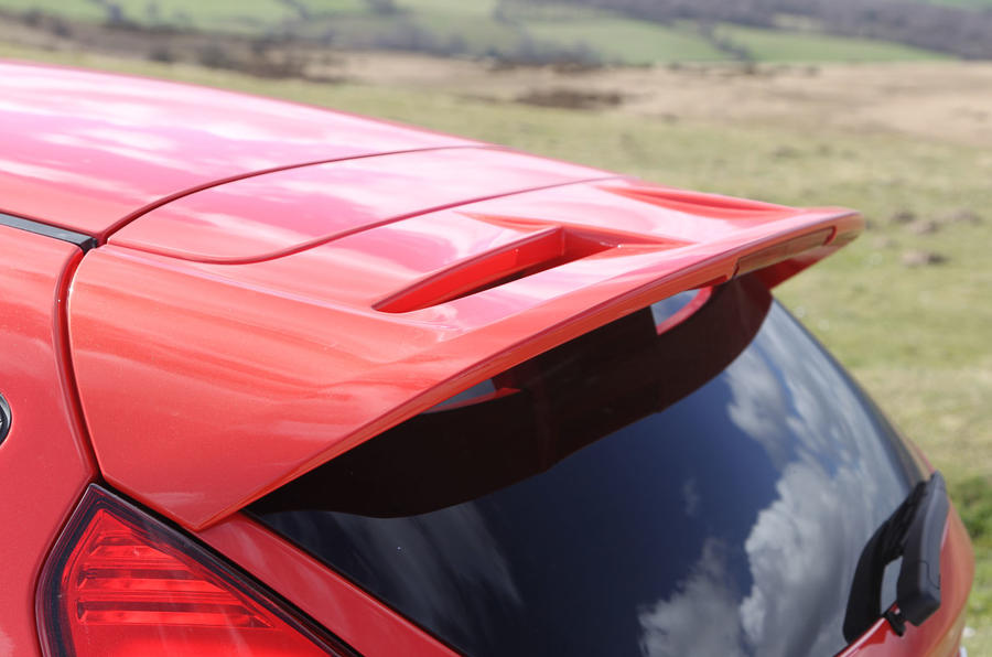2012 Ford Fiesta ST road test - spoiler