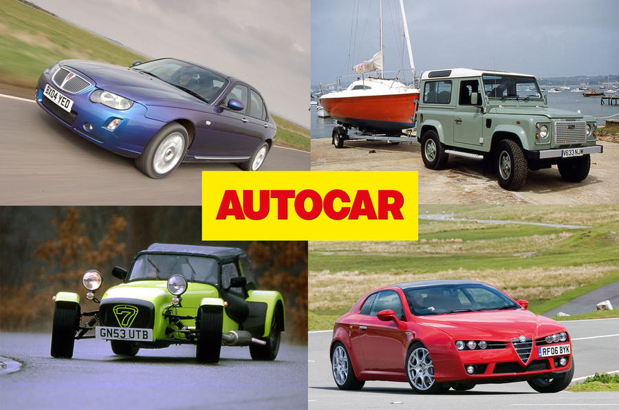 Our fantasy fleet of used cars ranging from £5k to £25k