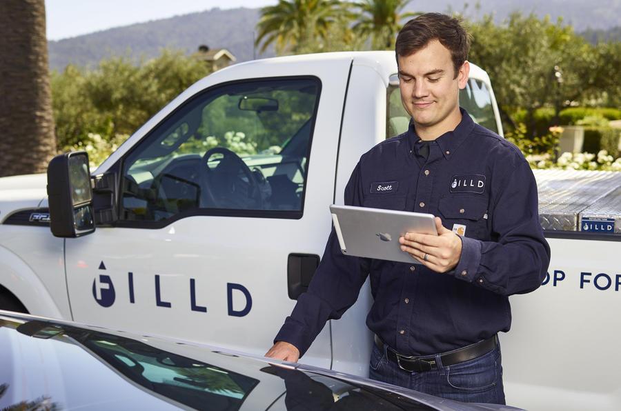 Bentley trials fuel delivery service