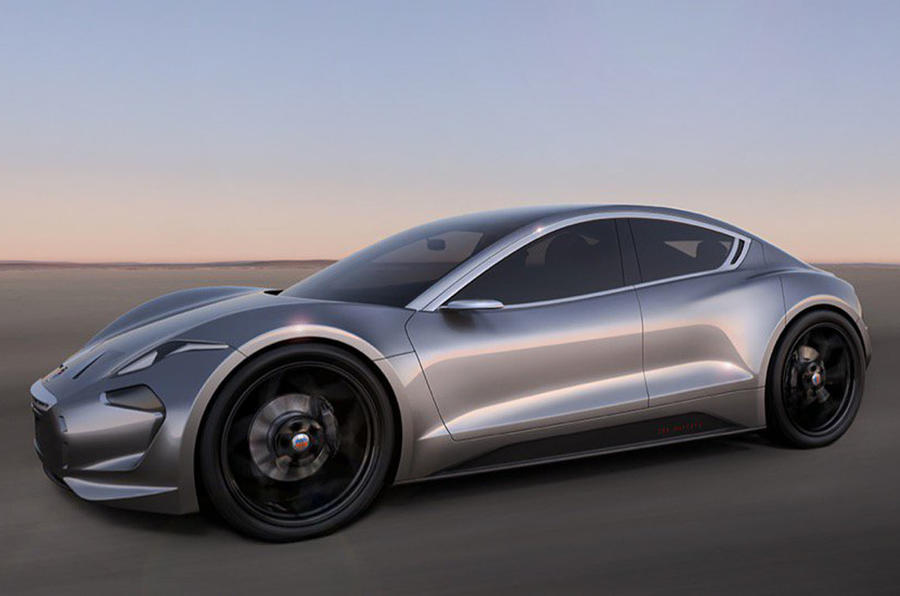 2017 Fisker Emotion Electric Car New Picture Reveals