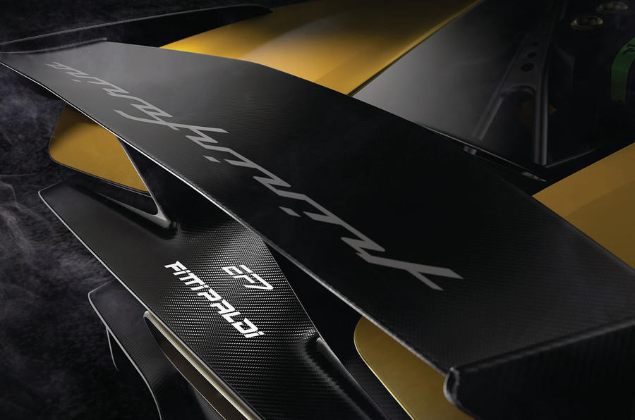 Pininfarina Fittipaldi EF7 Vision Gran Turismo front teaser image