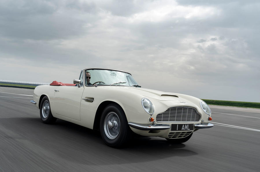 2019 Aston Martin DB6 Volante electrified