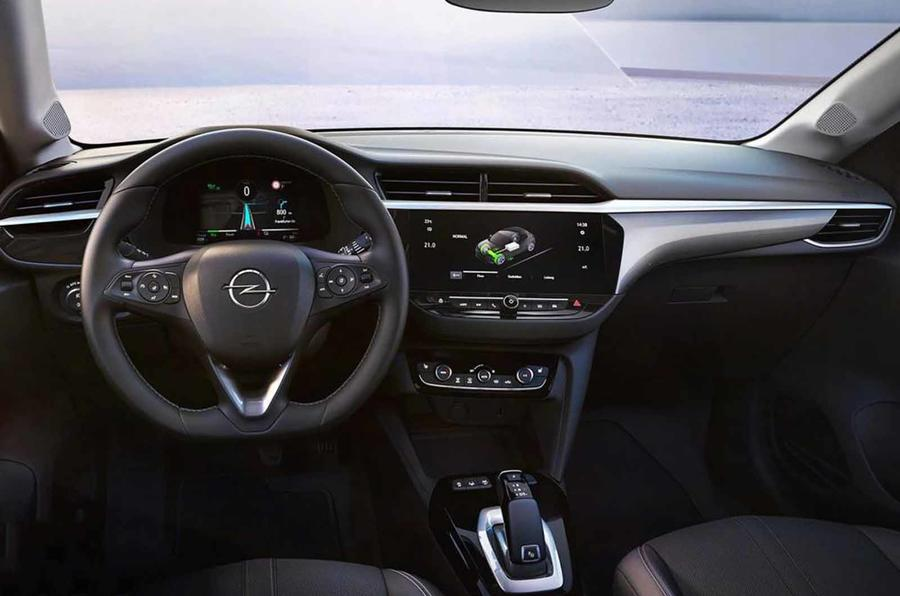 Vauxhall eCorsa interior leaked photo