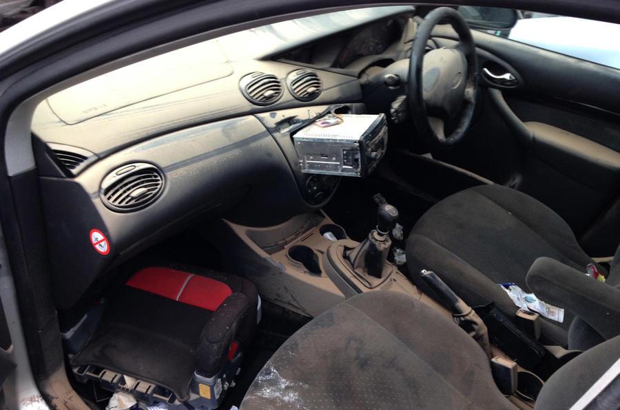 flood-damaged car