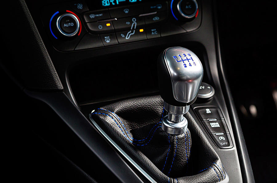 Ford Focus RS manual gearbox