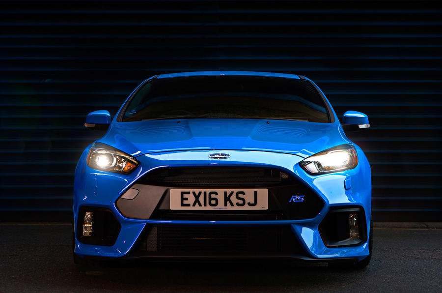 Ford Focus RS front end