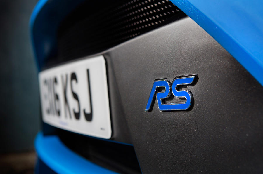 Ford Focus RS badging