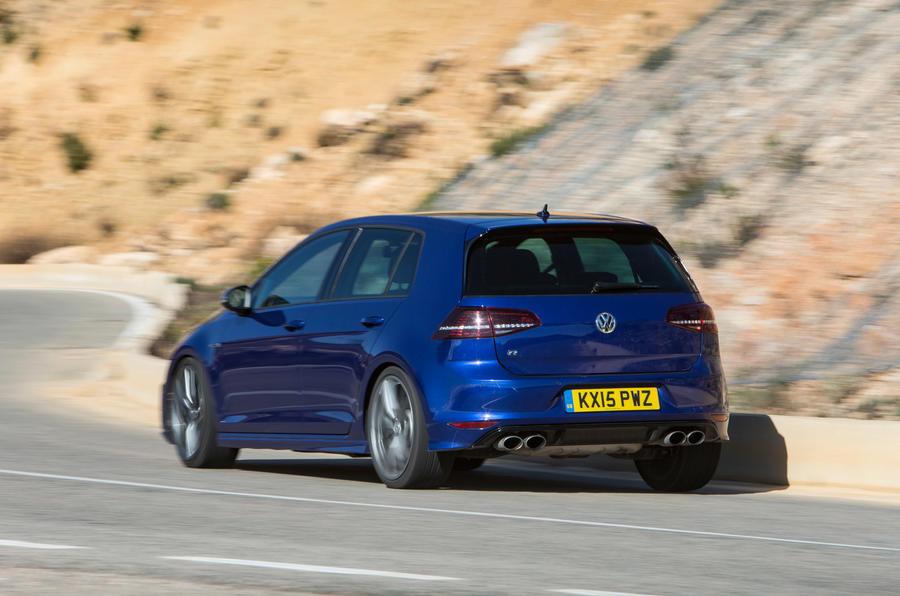 Volkswagen Golf R rear