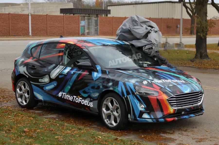 Novo Ford Focus 2018 >> New Ford Focus confirmed for 10 April reveal | Autocar
