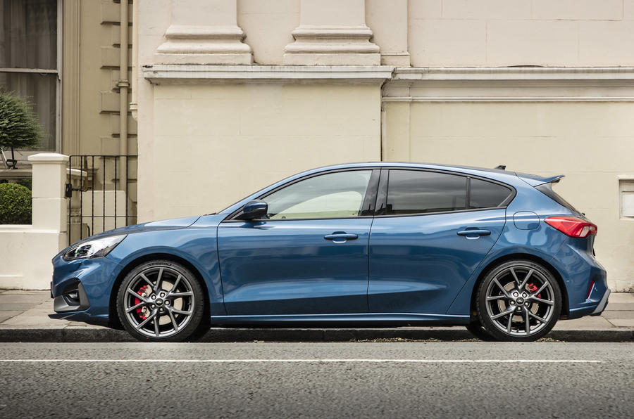 2020 Ford Focus ST with automatic gearbox