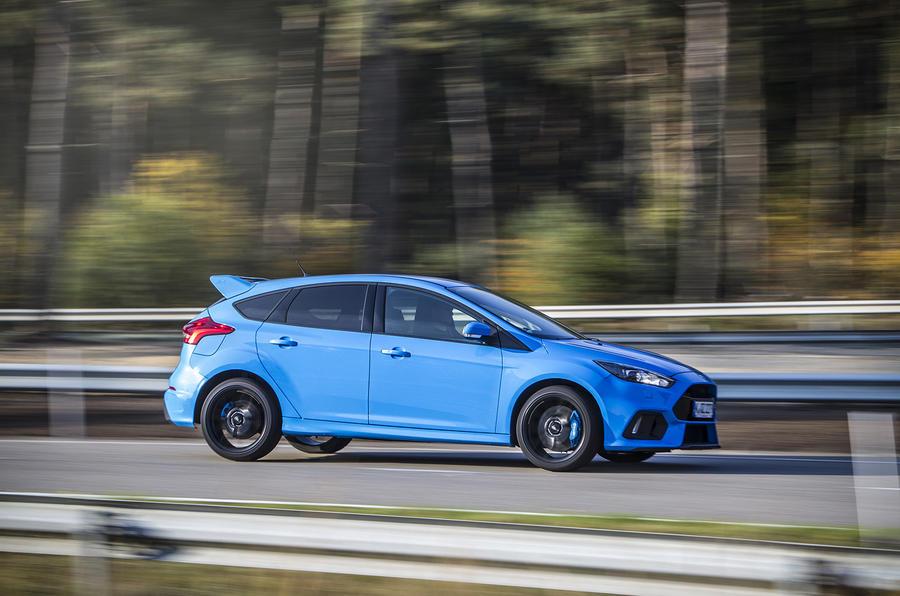Ford Focus RS spec