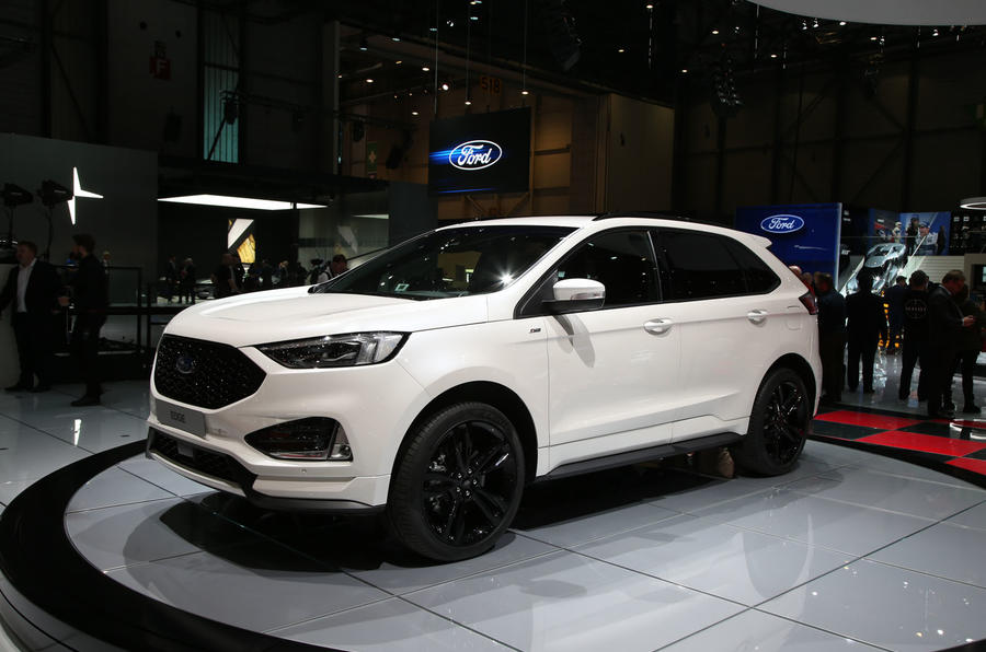 new ford edge officially launched in europe autocar. Black Bedroom Furniture Sets. Home Design Ideas