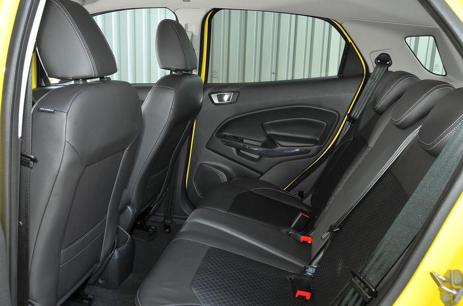 Titanium S Interior Ford Ecosport Rear Seats