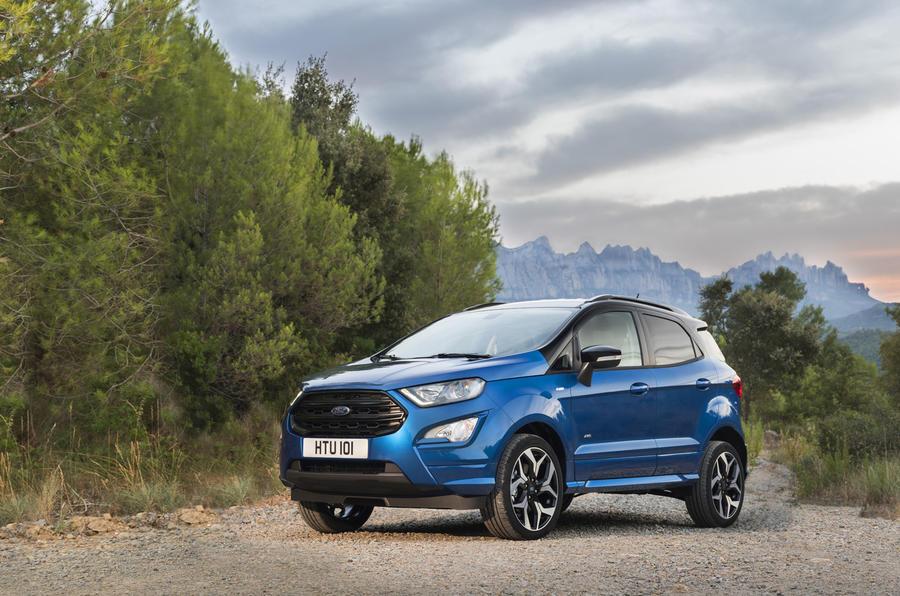 3 star Ford EcoSport