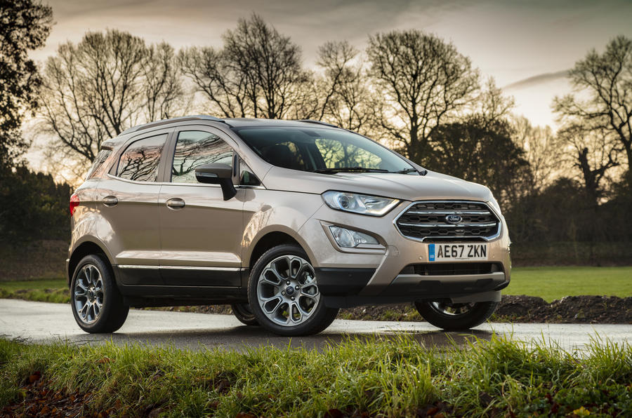 Three-star Ford Ecosport 1.0 Ecoboost 125 Zetec