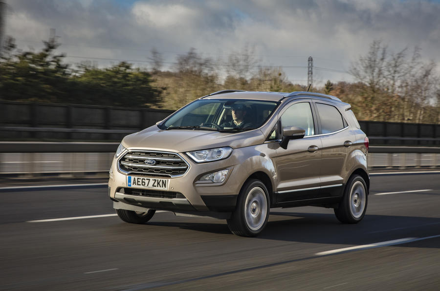 Ford Ecosport 1.0 Ecoboost 125 Zetec on the road