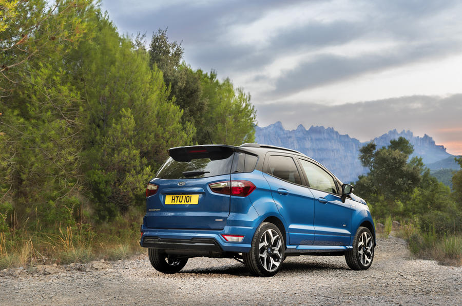 Ford EcoSport rear quarter