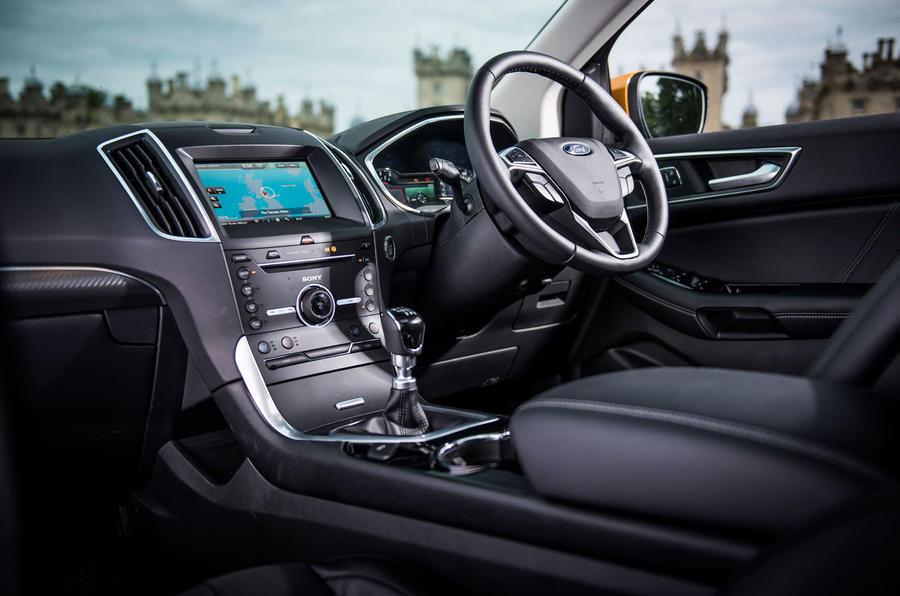 Ford Edge Sport interior