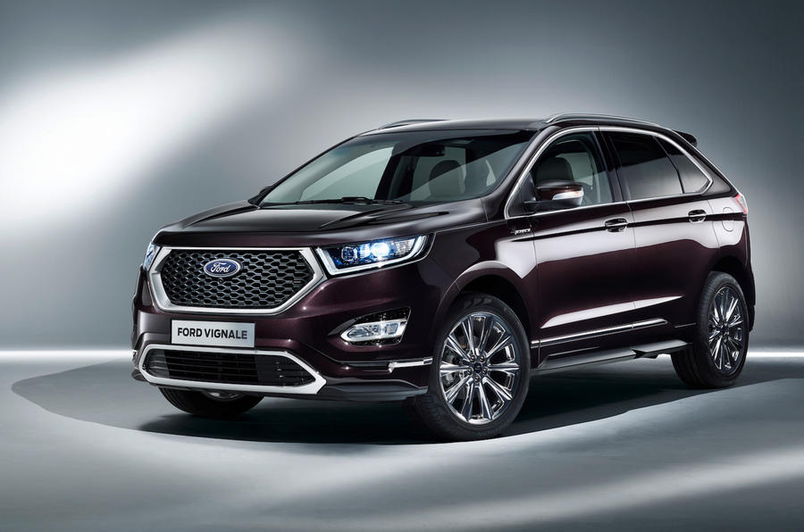 Ford Edge Kuga And S Max Vignale Models Revealed Autocar