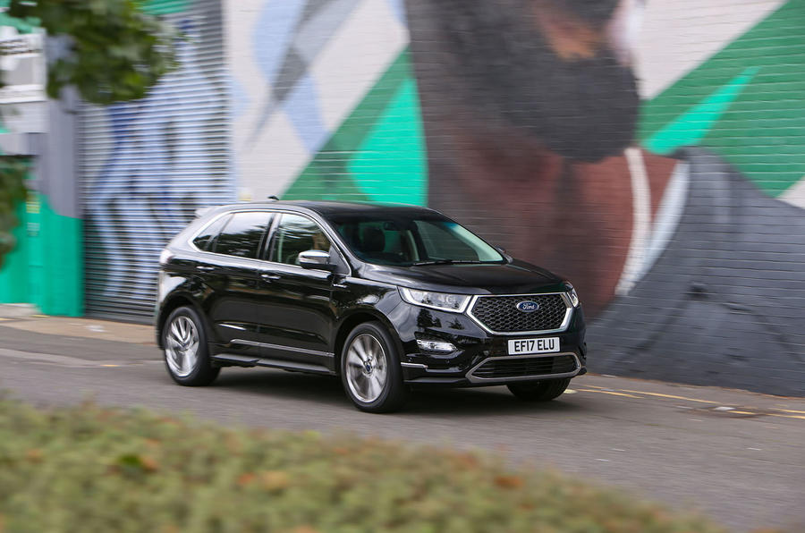 Three-star Ford Edge Vignale
