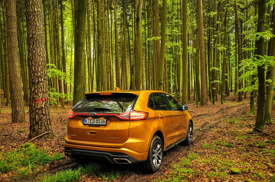 Offroading in the Ford Edge