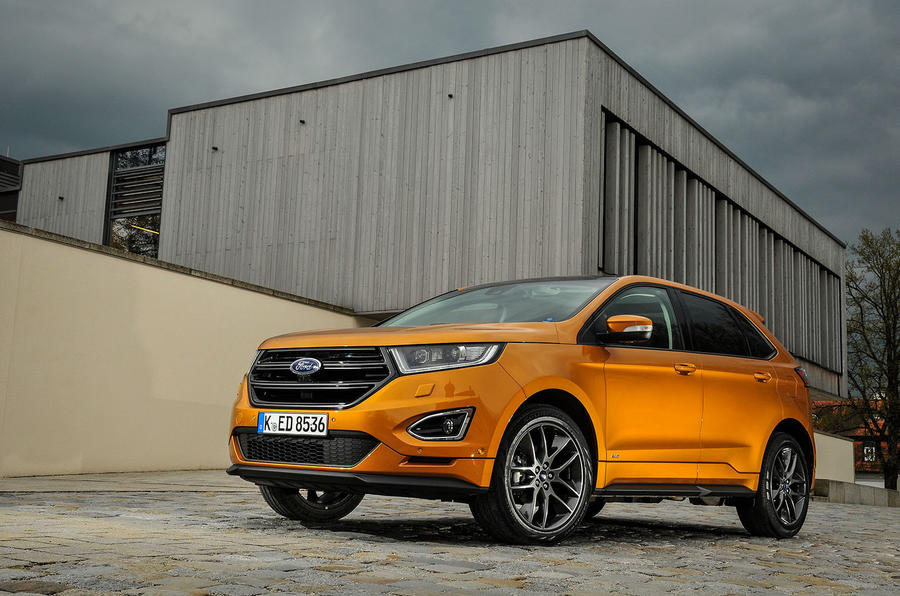 The ford edge has audi and bmw in its sights and it has the space and 2017 2018 best cars