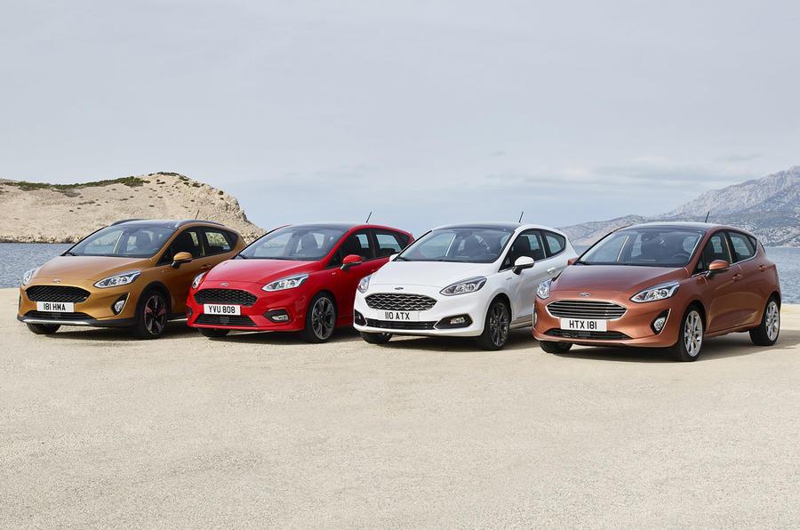 Ford Fiesta Active, ST-Line, Vignale, Titanium