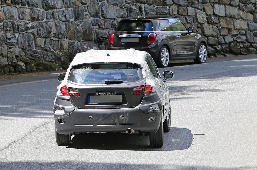 Ford Fiesta spy pictures