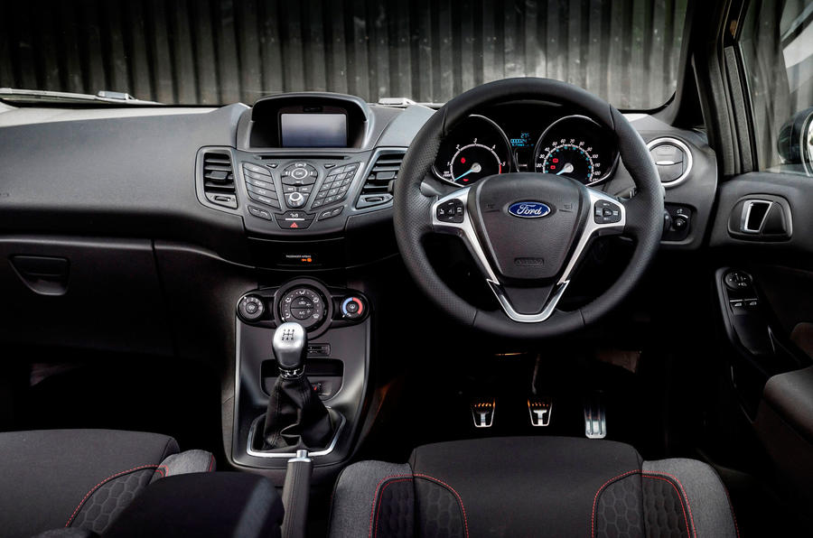 Ford Fiesta ST-Line dashboard