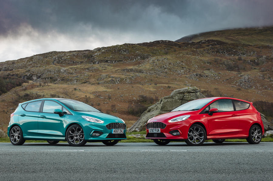Ford Fiesta ST-Line X in the wilderness