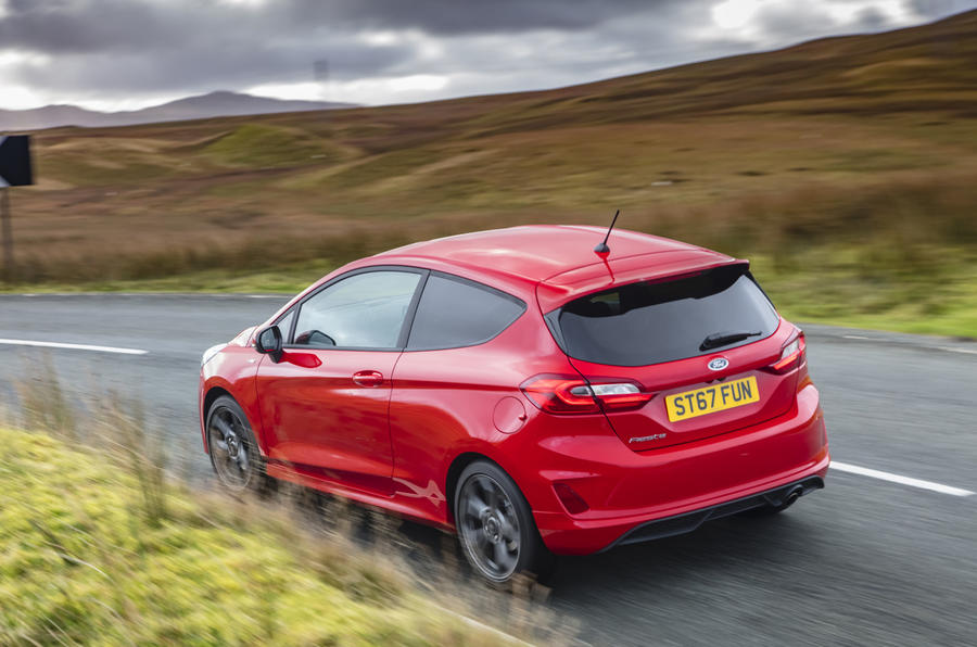 Ford Fiesta ST-Line X rear cornering