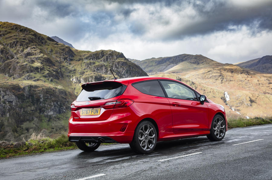 Ford Fiesta ST-Line X rear quarter