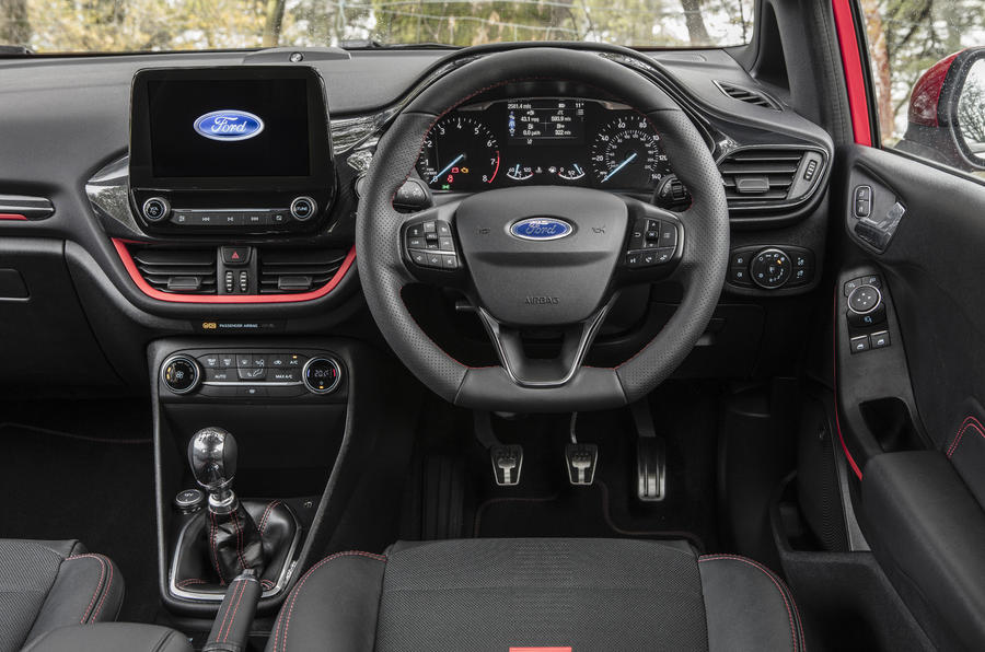 Ford Fiesta ST-Line X dashboard