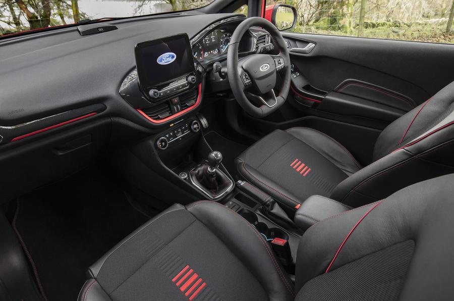 Ford Fiesta ST-Line X interior