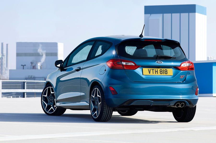 2017 Ford Fiesta ST back