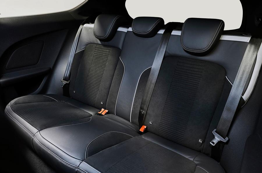 2017 Ford Fiesta ST back seats