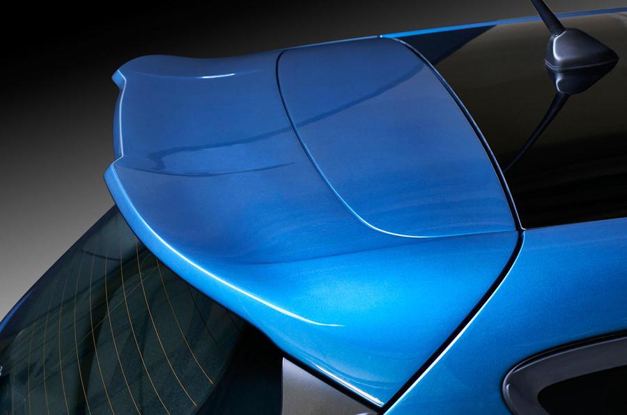 2017 Ford Fiesta ST spoiler