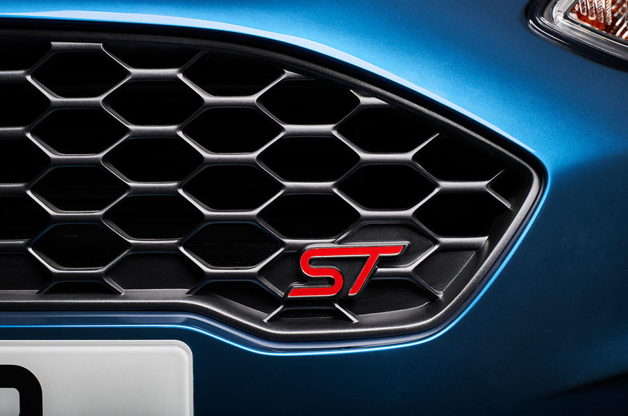 2017 Ford Fiesta ST front grille