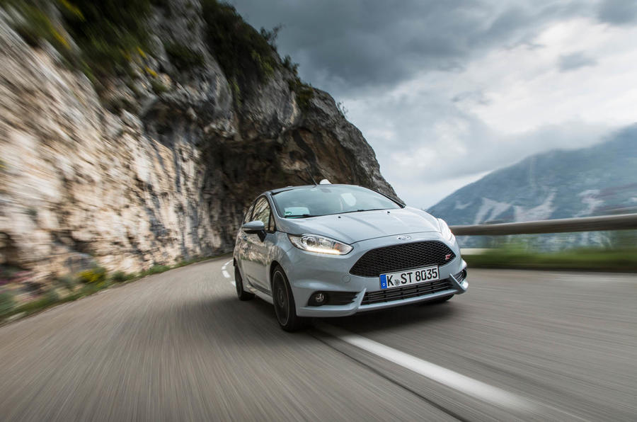 Ford Fiesta ST200 front quarter