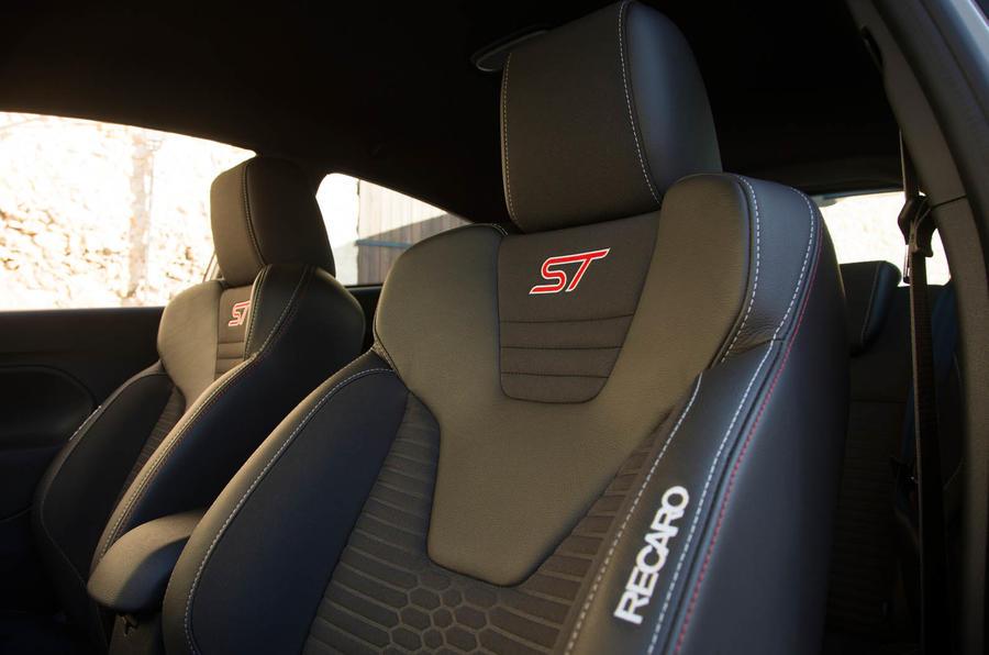 Ford Fiesta ST200 stitched Recaro seats