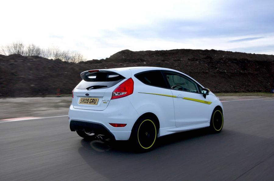 Ford Fiesta Zetec S Mountune rear quarter