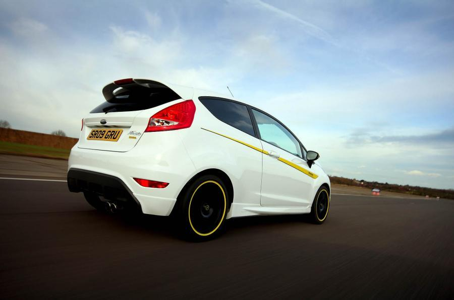 Ford Fiesta Zetec S Mountune rear