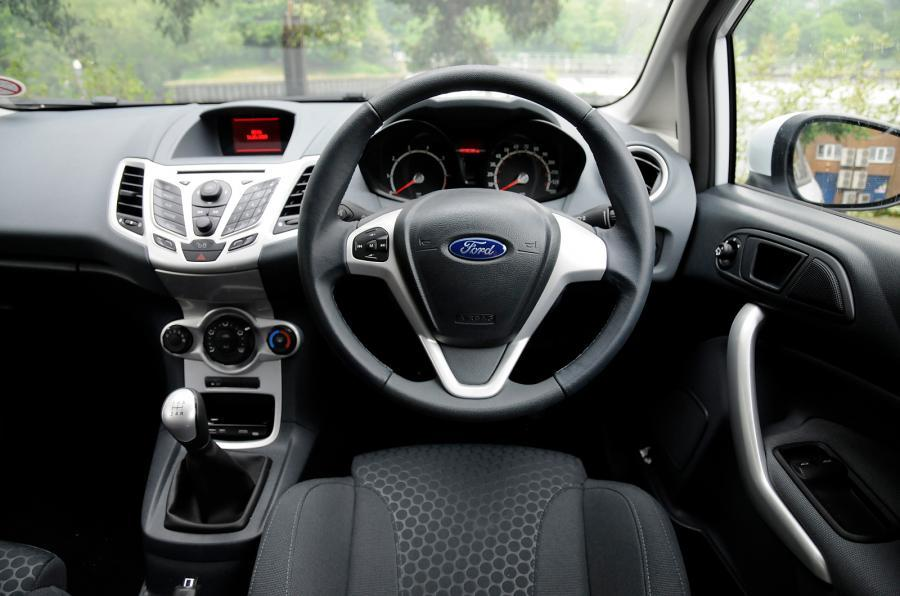 Ford Fiesta Zetec S Mountune dashboard
