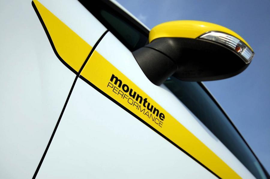 Ford Fiesta Zetec S Mountune wing mirror