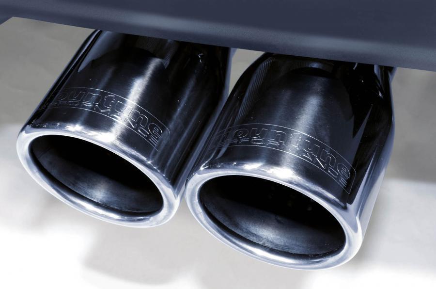 Ford Fiesta Zetec S Mountune twin exhaust